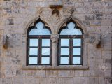 Old Window On Old Medieval Castle Stock Photo Picture And Royalty intended for sizing 1300 X 1089