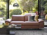 Recliner Sofas In Leather Fabric Fishpools intended for dimensions 1300 X 776